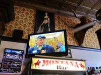 Corporate Politician Panders for Votes at Montana Bar